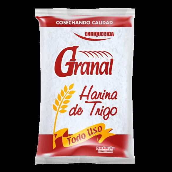 Harina de trigo todo uso 1kg